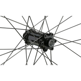 "NEWMEN Evolution SL X.A.25 Roue avant 27,5"" 15x110mm 6 vis Gen2, black anodised/grey"